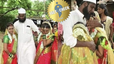 Photo of Islamist who arranged marriage for Hindu women as a maternal uncle | Misinformation spread as adopted!