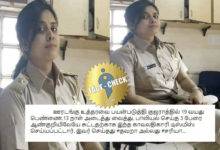 Photo of Was a policewoman suspended for shooting the 3 rape accused in Gujarat?