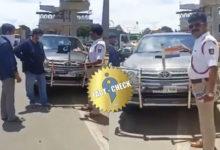 Photo of Did the Karnataka Police remove the Pakistan flag from a Tamilnadu car?