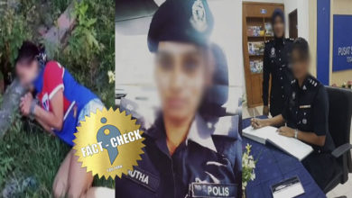 Photo of WhatsApp rumour spreads that a Tamil woman working in the Malaysian police has been murdered!