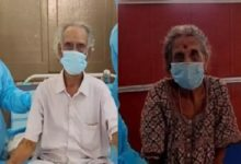 Photo of 100-year-old husband and 92-year-old wife defeats Corona with the Government Hospital Service!