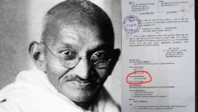Photo of Controversy over non-inclusion of Tamil in Gandhi Jayanti puzzle competition