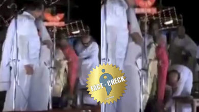 Photo of Video of Karunanidhi falling at the feet of Indira Gandhi | What is the truth?