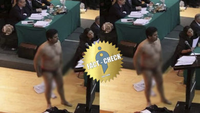 Photo of Why did the Mexican politician protest with underwear?
