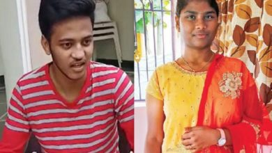 Photo of Coimbatore student Manoj complains that NEET OMR slip has changed!