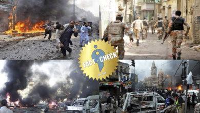 Photo of Old photos spreading like a civil war in Karachi, Pakistan!