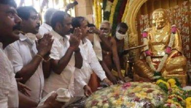 Photo of Did H. Raja worship the idol of Muthuramalingam? | Rumor has it that the Brahmin Association thanked him!