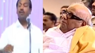 Photo of Edited video of Karunanidhi listening to Mohan C Lazarus' campaign!