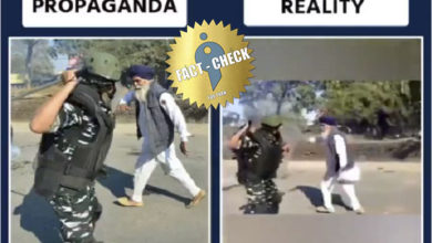 Photo of Was the old farmer not attacked? | False propaganda spread as truth!