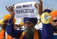 Photo of Rumor has it that Sikhs in Delhi fought with banners demanding Khalistan!