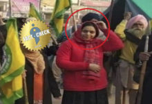 Photo of Did Hathras woman join the Delhi farmers struggle?